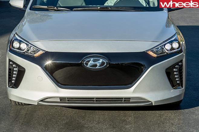 Hyundai -Ioniq -fascia