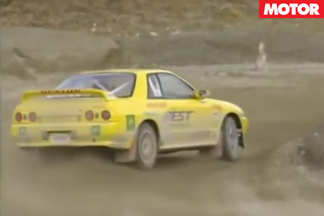 Nissan R32 GT-R rear drift