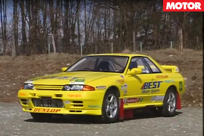 Nissan R32 GT-R rally monster