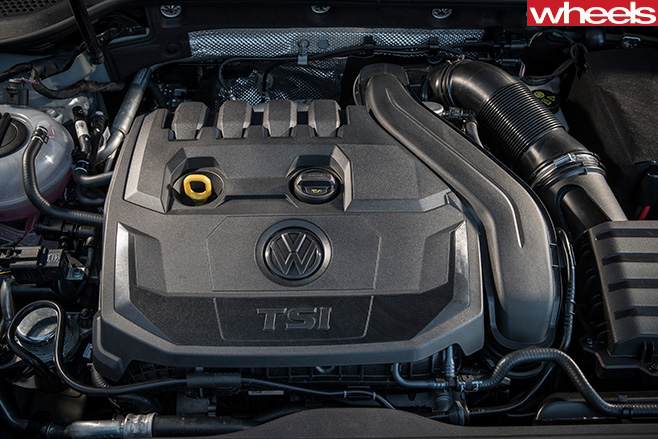 VW-golf -engine