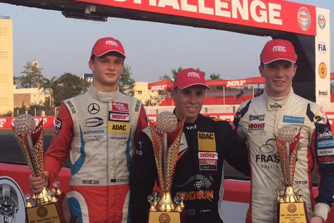 658_Joey -Mawson -Chennai -podium