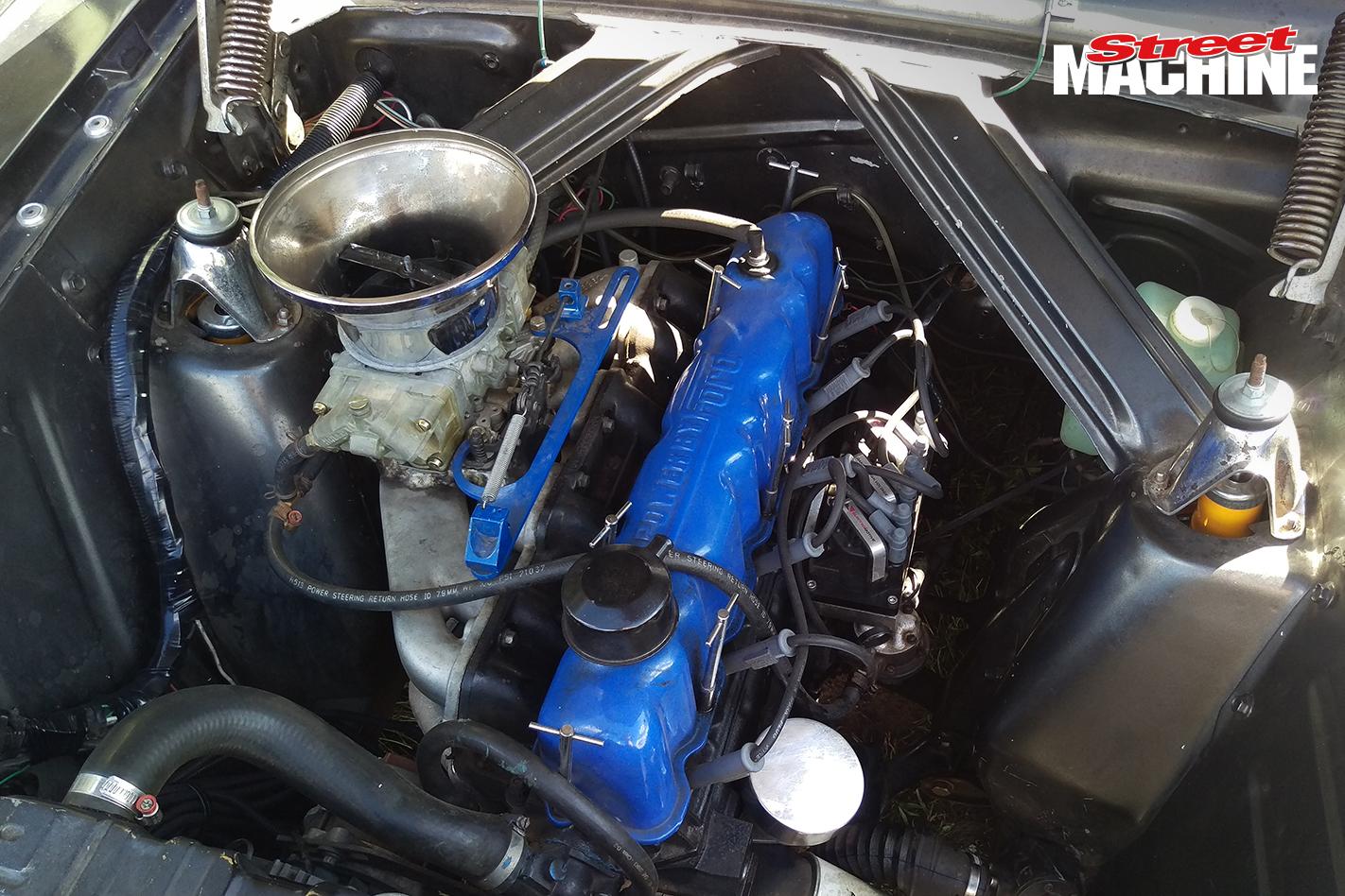 XP Falcon Sedan Engine