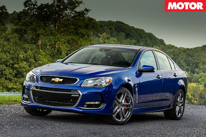 Chevrolet SS front