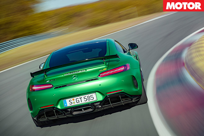 Mercedes-AMG GT R rear driving