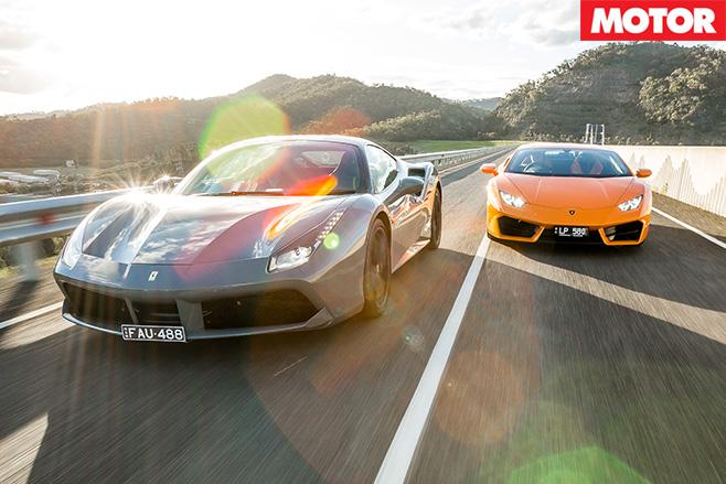 Ferrari vs lambo