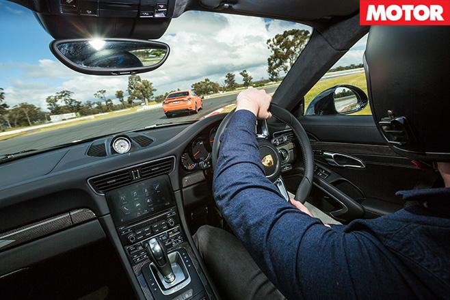Driving the porsche 911 turbo s