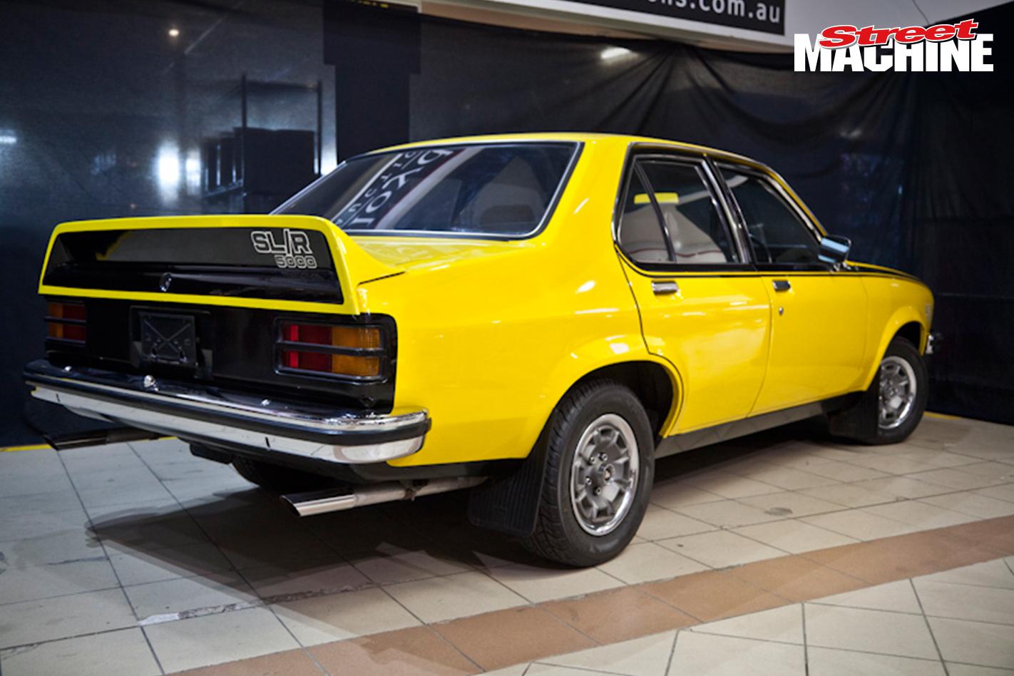 Holden Torana SLR5000 Yellow