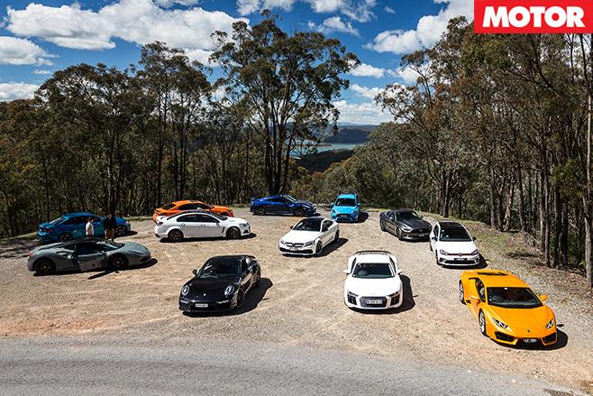 Car -lineup