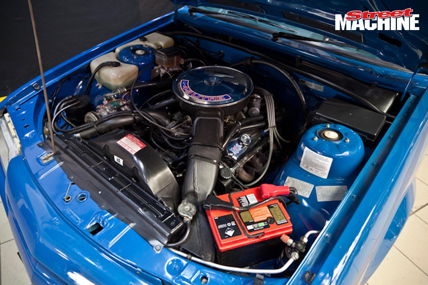 VK Commodore SS Brock Engine