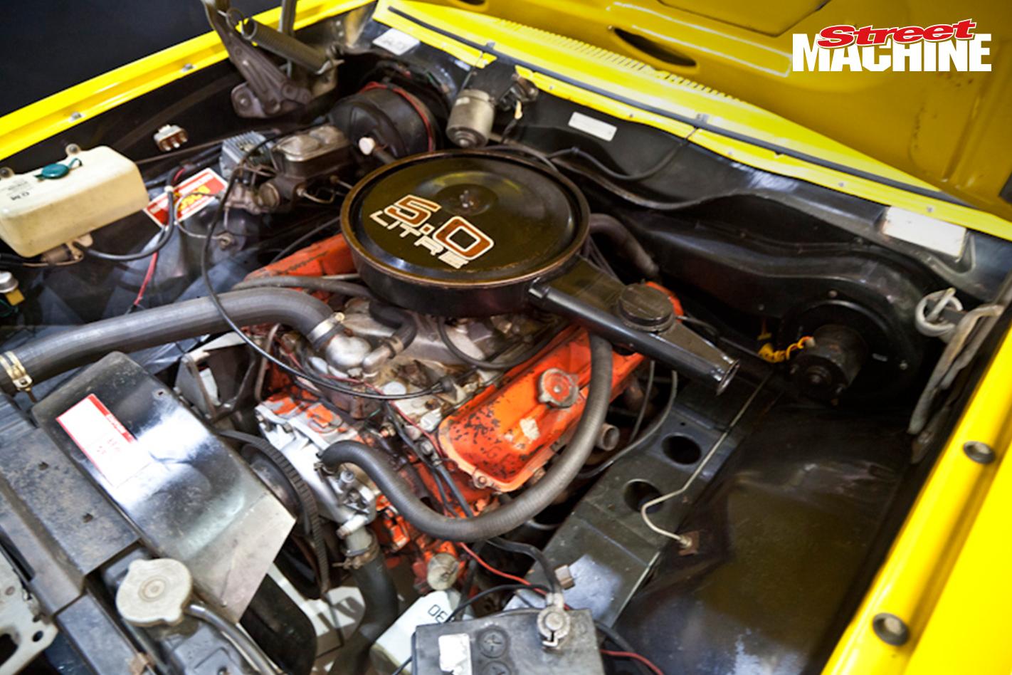 Holden Torana SLR5000 Engine