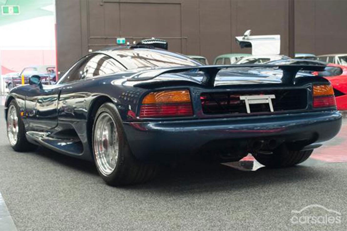 Jaguar XJR15 rear