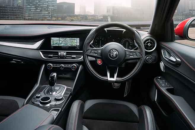 Alfa Giulia 114 Interior