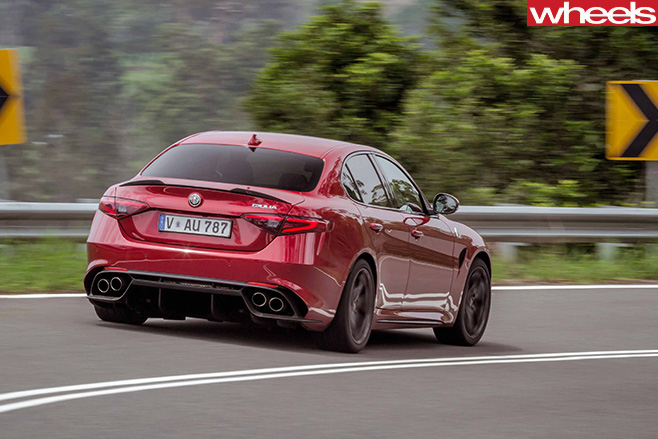 2017 alfa romeo giulia qv review. Black Bedroom Furniture Sets. Home Design Ideas