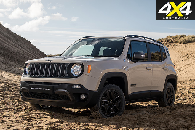2017 Jeep Renegade Desert Hawk
