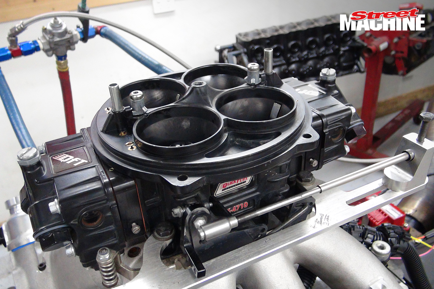 LSX 417Ci Engine Quickfuel 1050 Carb