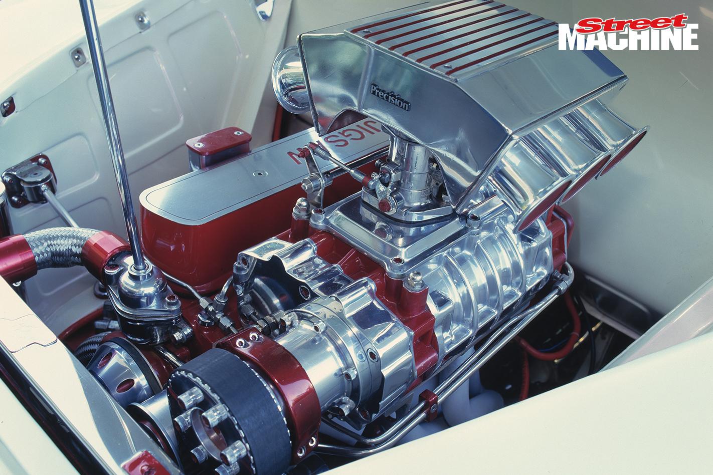 FJ Holden JIGSAW Engine Supercharged