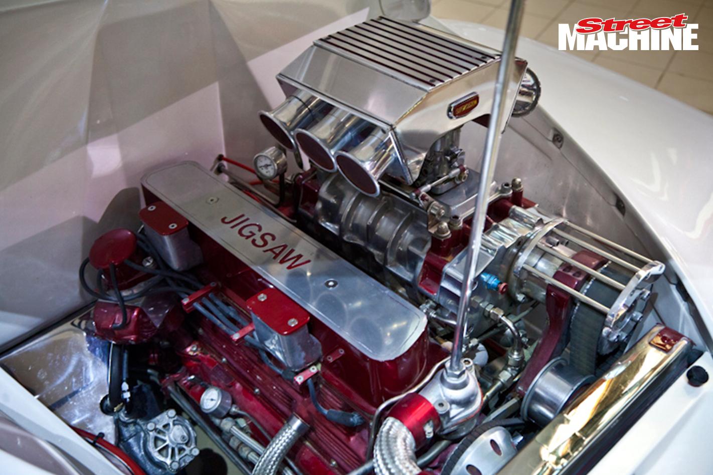 FJ Holden JIGSAW Engine Supercharged 1