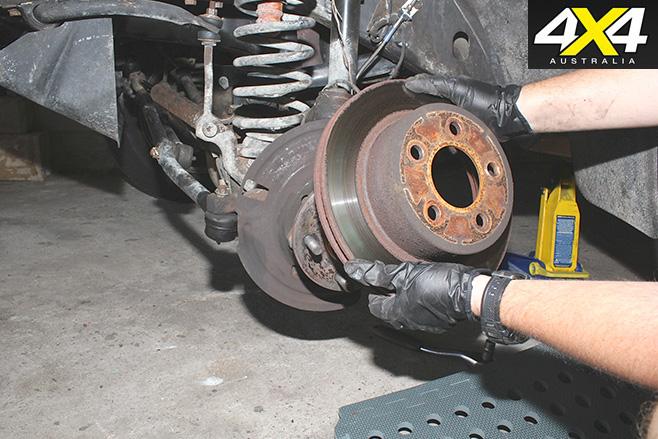 Remove rotor