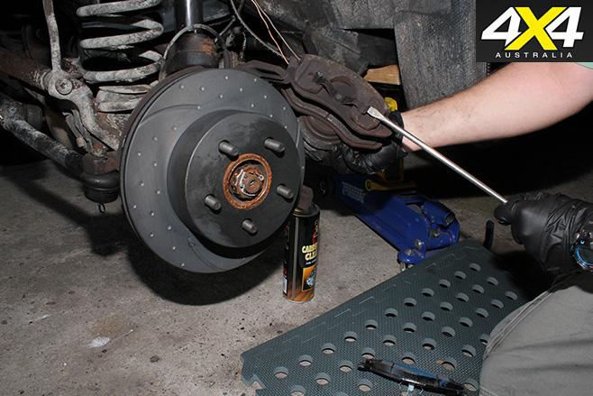 Remove outer brake