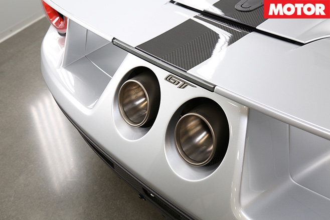 Ford GT Competition -Series exhaust