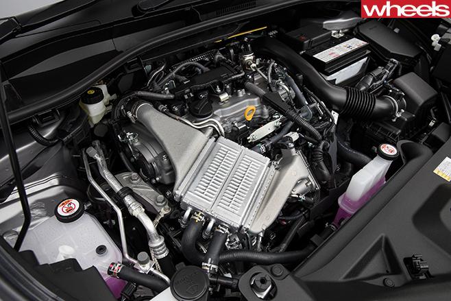 2017-Toyota -C-HR-engine