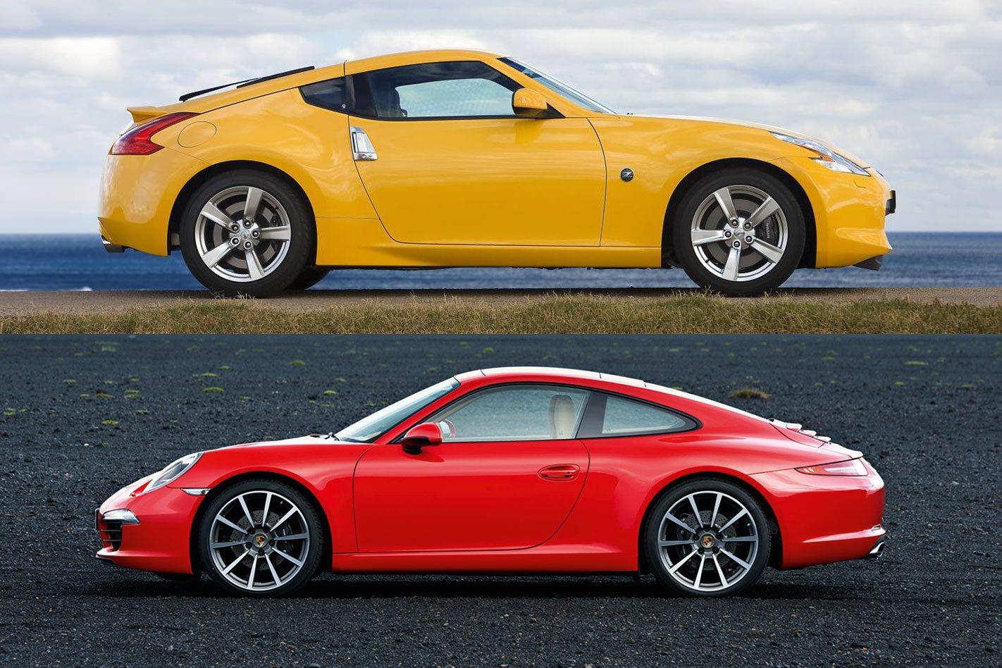 What's more por: Nissan 370Z or Porsche 911?