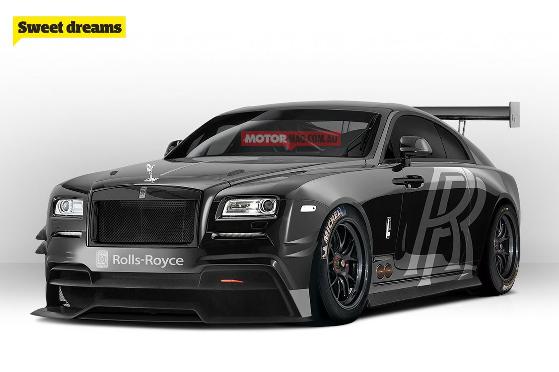 My Kia Performance >> Sweet Dream: Rolls-Royce Wraith GT3