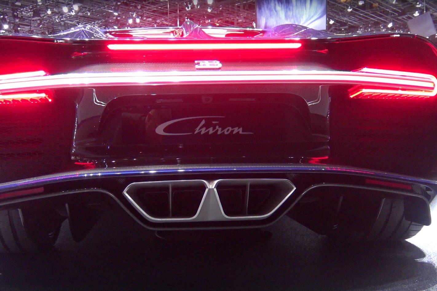 Video Bugatti Chiron S Quad Turbo W16 Exhaust Sound