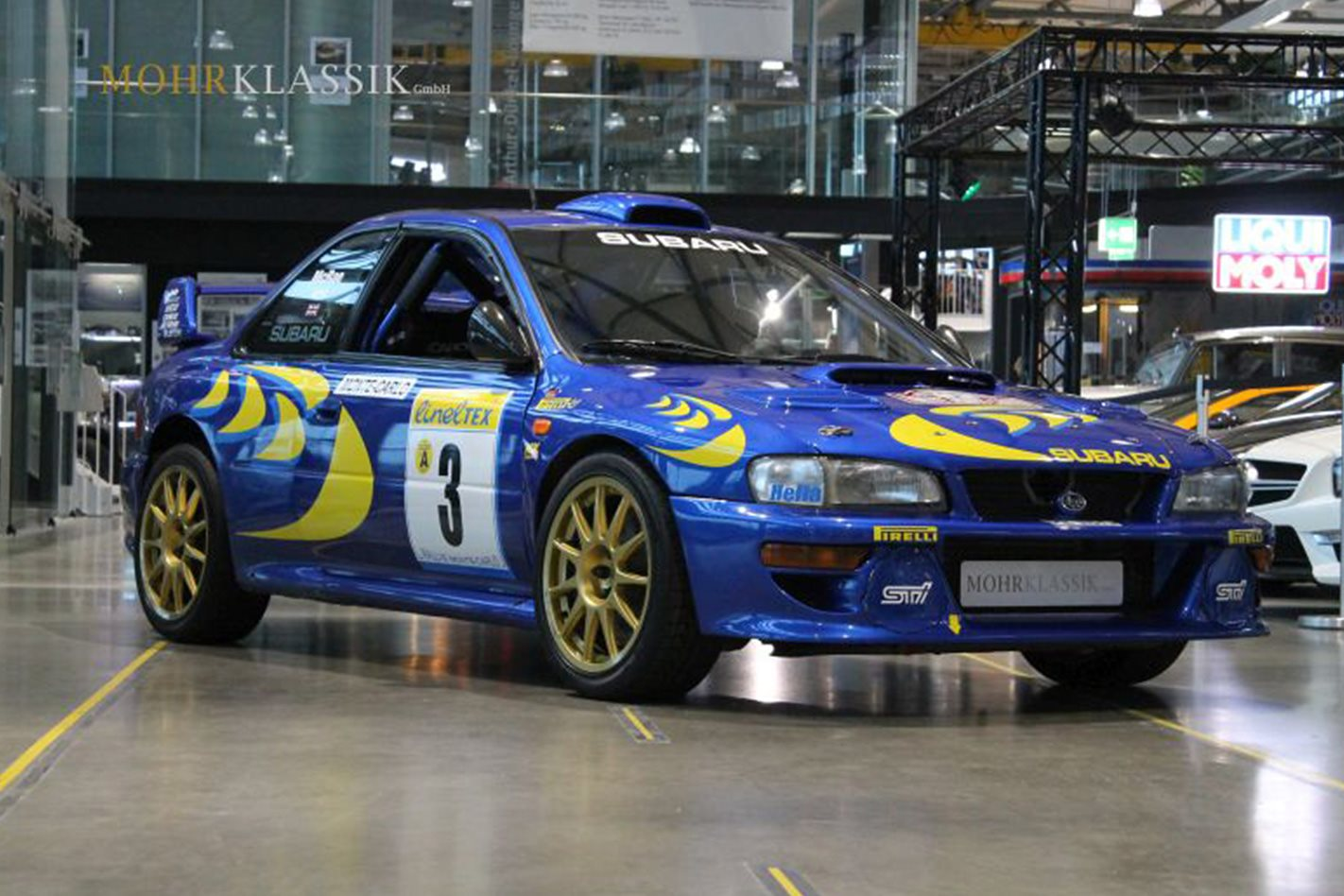 McRaes 1997 Subaru Impreza WRC for sale