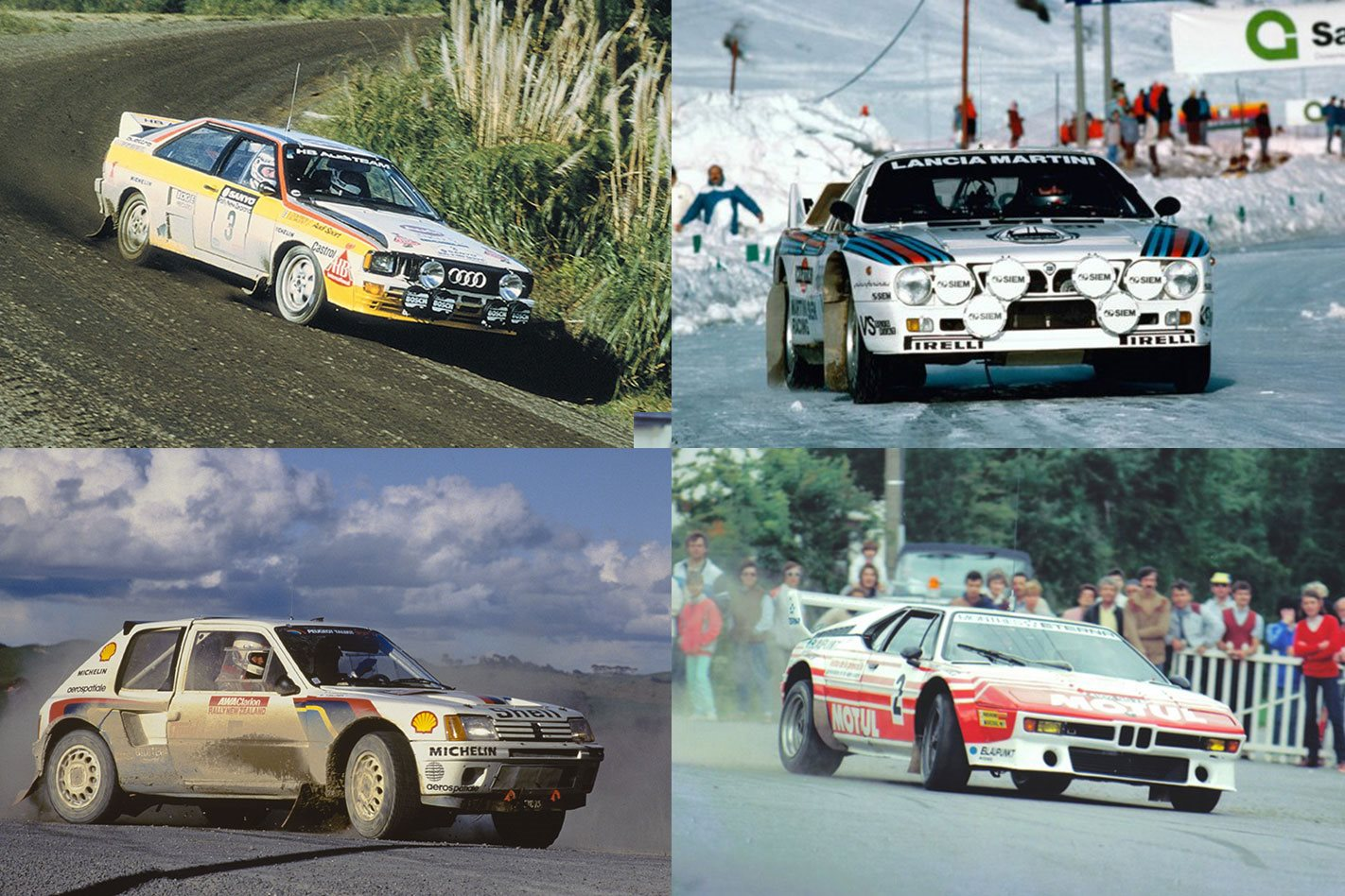 Cars of Group B Part 1