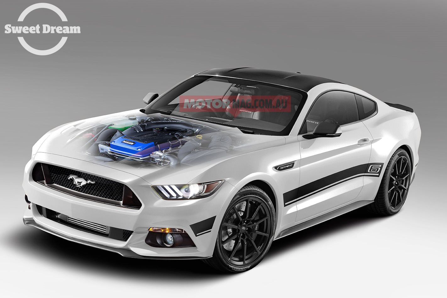 Ford Mustang Barra: Sweet Dream