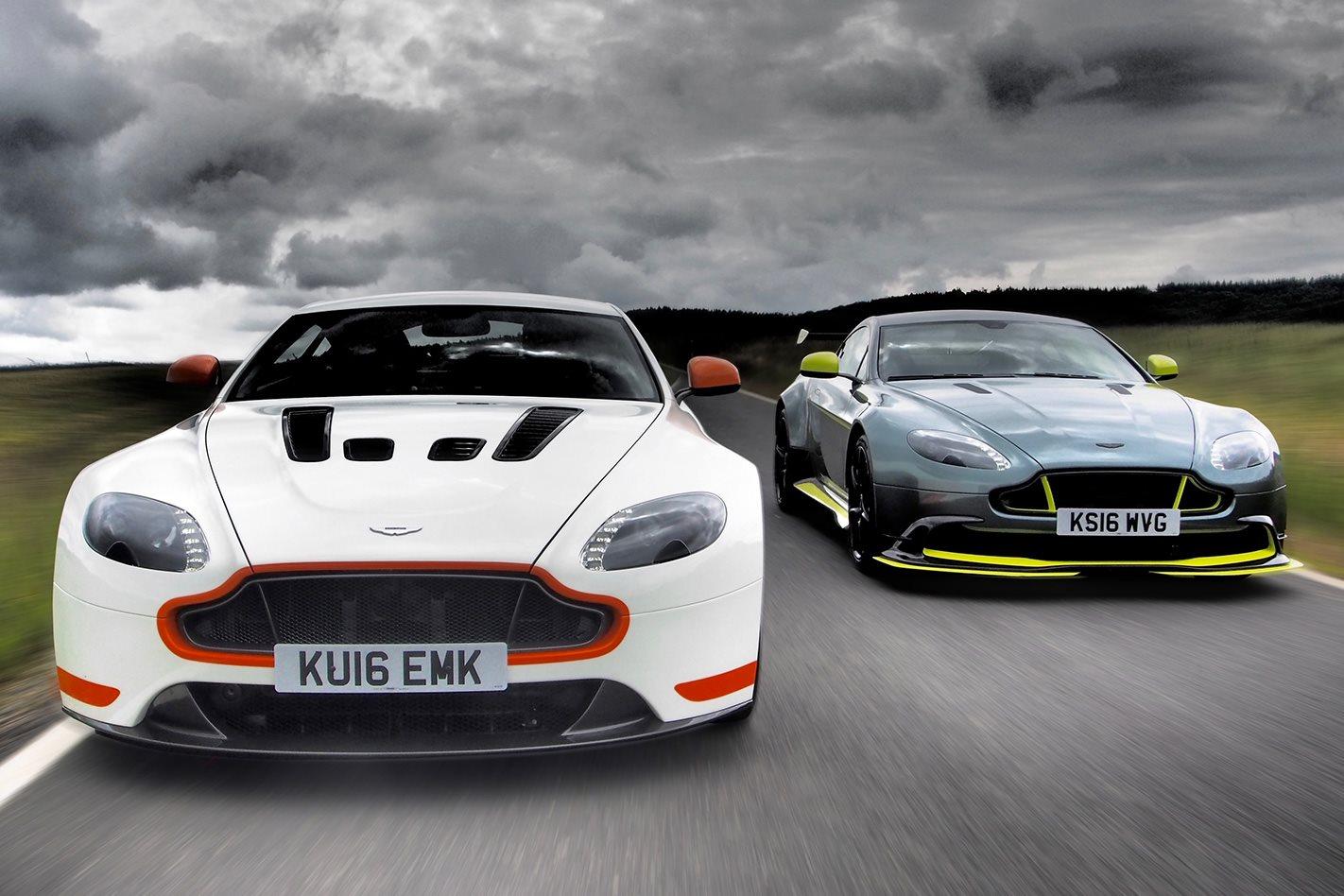 Aston Martin Vantage Gt8 Vs V12 Vantage S