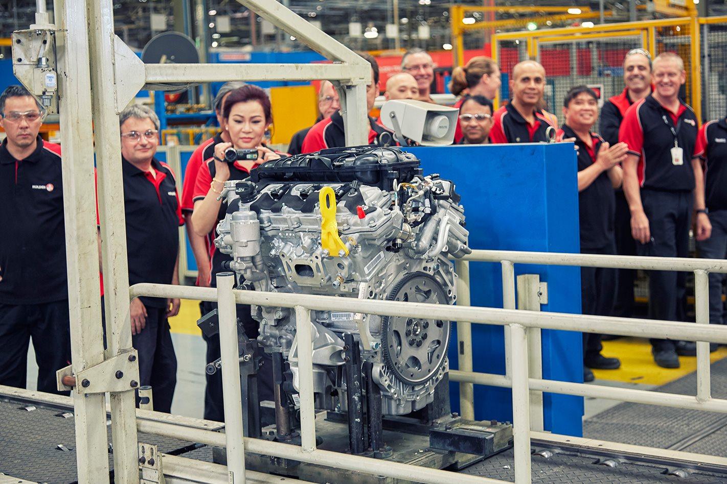 Holden ends Australian V6 production