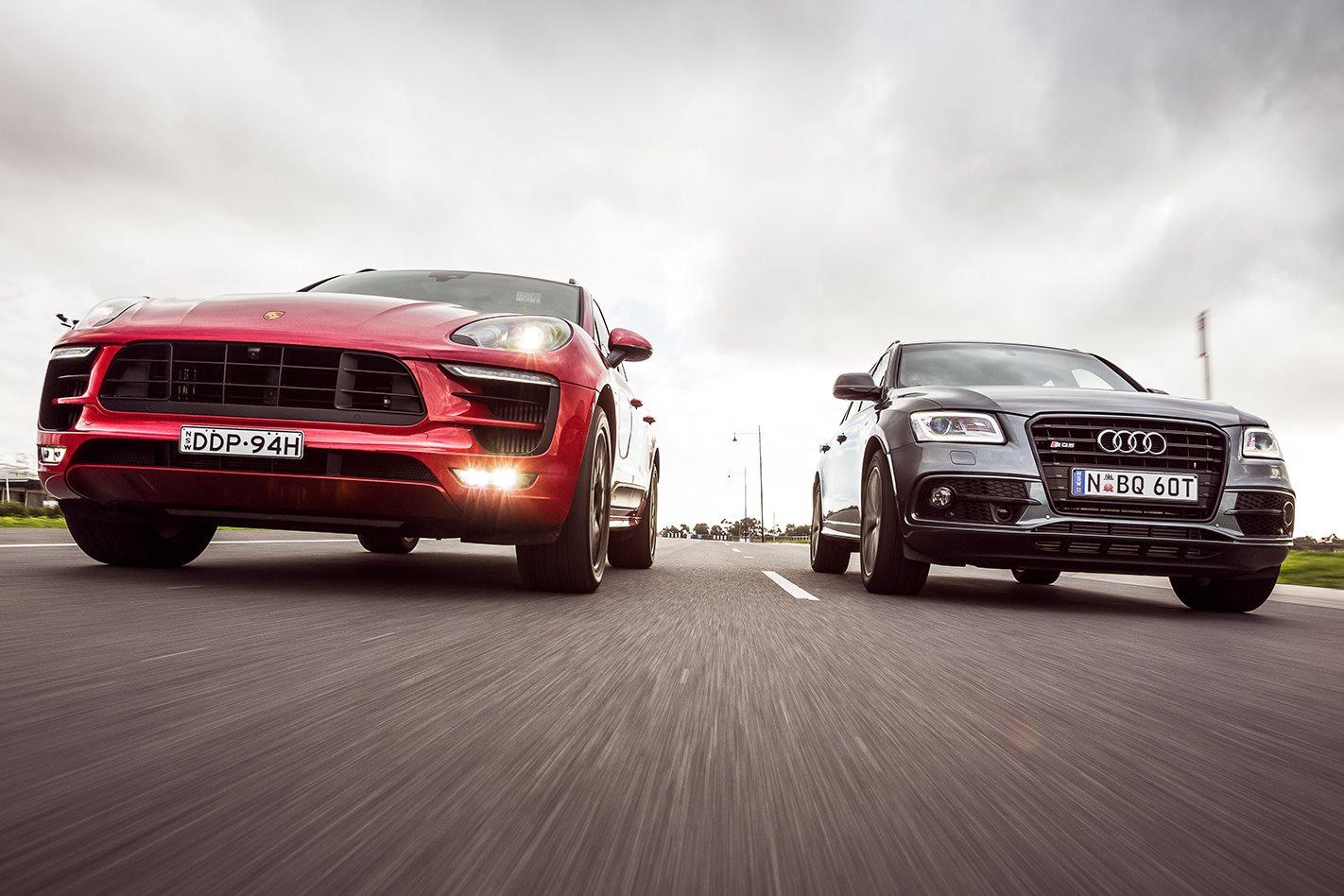 Audi SQ5 Plus vs Porsche Macan GTS