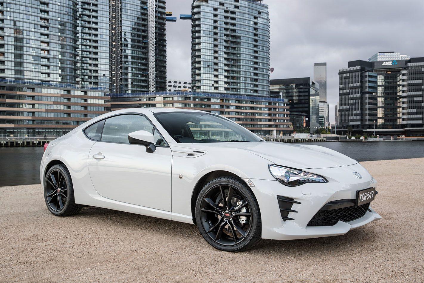 2017 Toyota 86 Scores Trd Upgrades