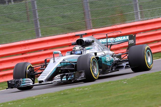 Mercedes-AMG F1 racing car
