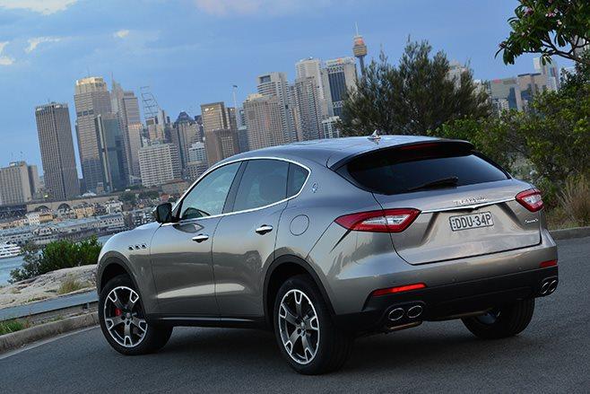 2017 Maserati Levante rear