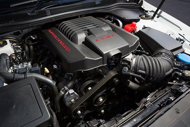 HSV Clubsport R8 LSA front engine