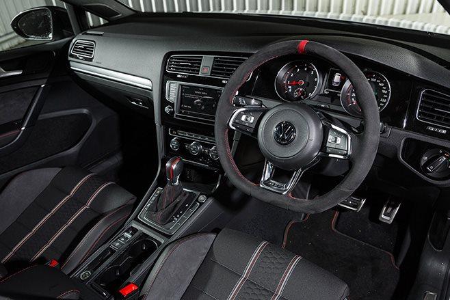 Volkswagen Golf GTI 40 years interior