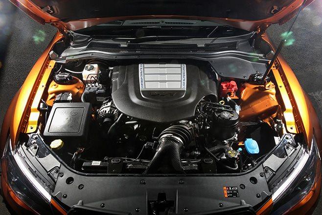HSV GTSR W1 engine