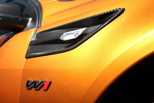 HSV GTSR W1 headlights
