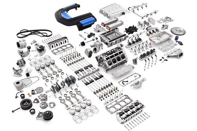 corvette LS9 parts