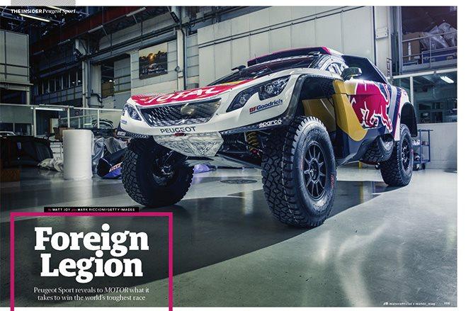 Peugeot Sport Dakar winner