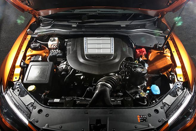 HSV GTSR W1 engine