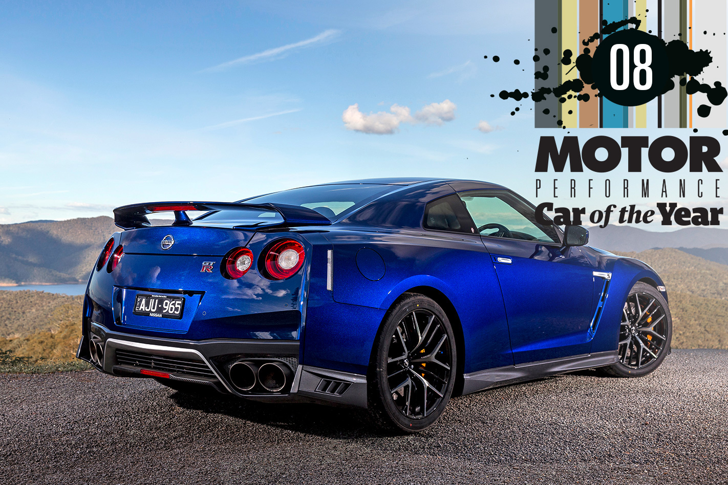 nissan gt-r: performance car of the year 2017 #8