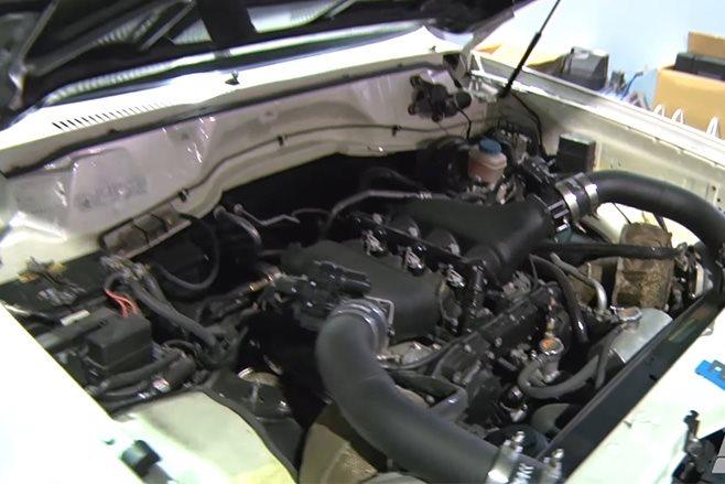 Nissan Patrol GT-R engine