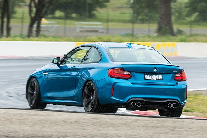 BMW M2 Pcoty rear