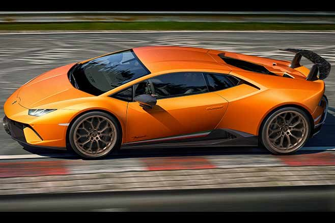 lamborghini huracan performante 2018. lamborghini huracan performante revealed at geneva motor show 2018 e