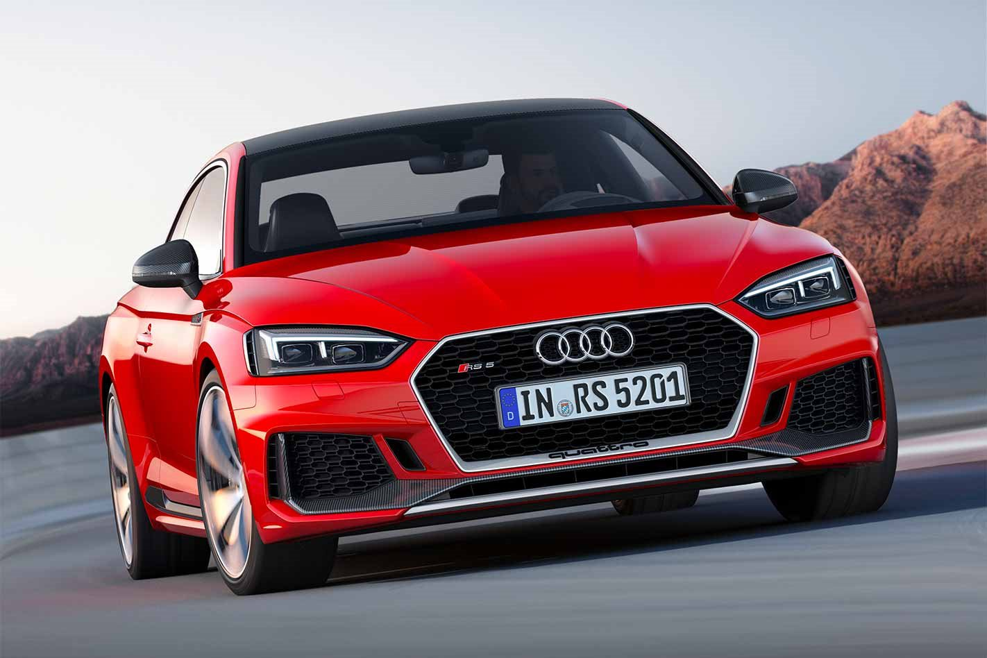 2017 Audi RS5 front