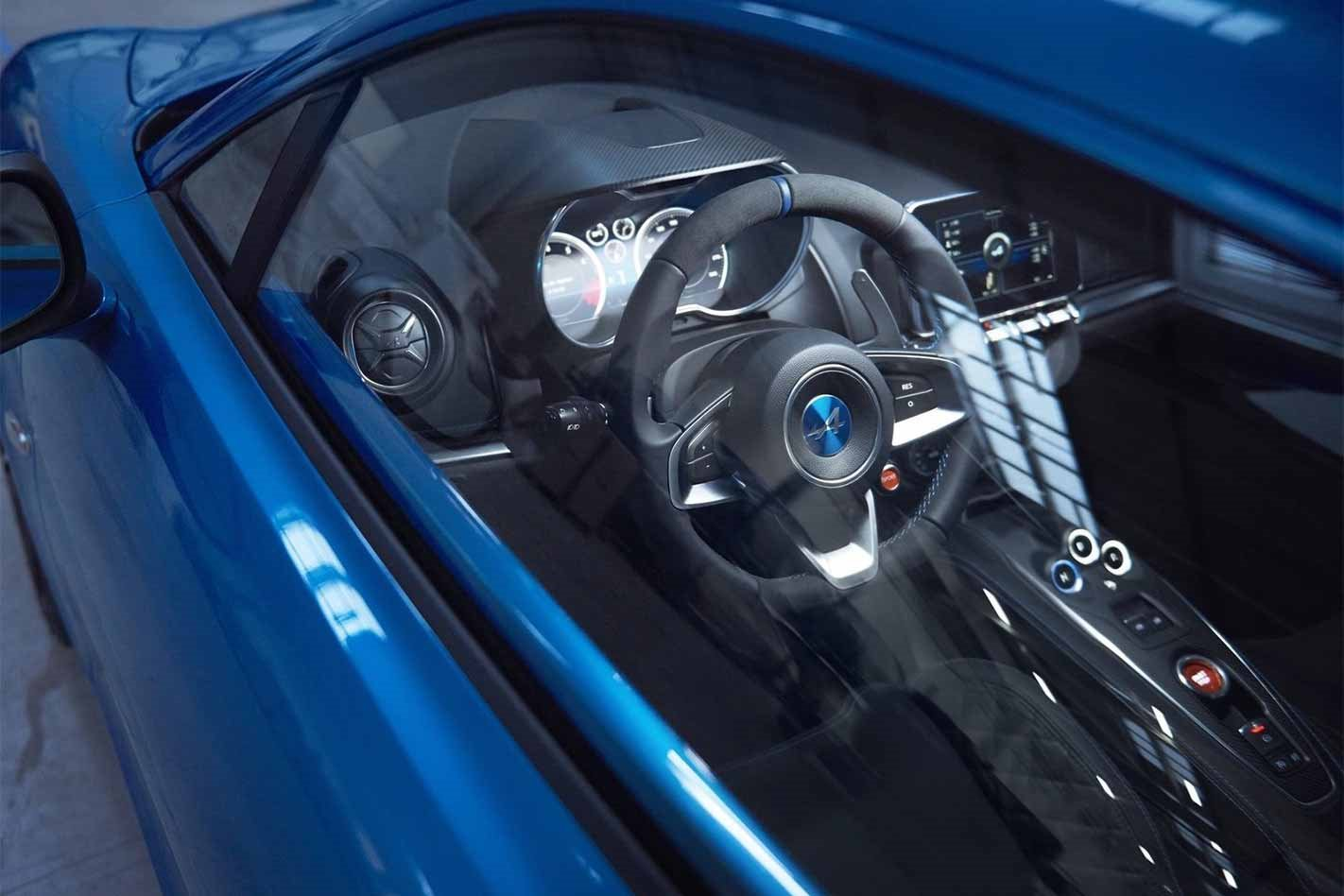 2018 Alpine A110 interior